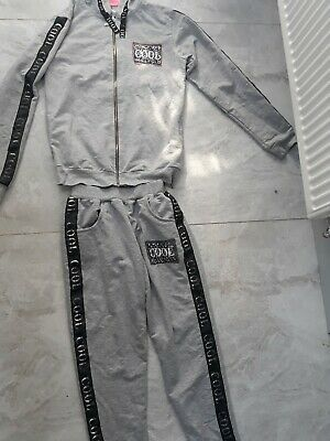 Girls tracksuit 13-14 Years hoodie and joggers