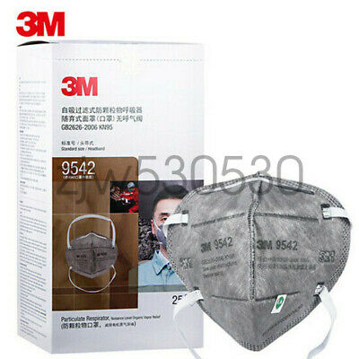 5 Pack 3M 9542 5PLY KN95 Disposable Face mask Mouth Nose Cover K-N95