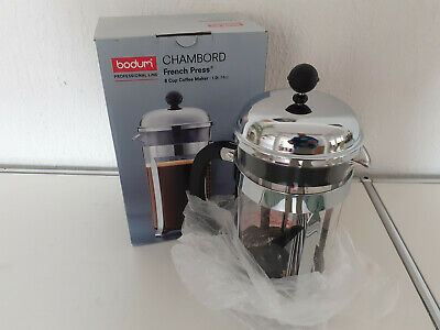 "BODUM Kaffeebereiter ""Chambord"" 1 Liter / 8 Tassen - French Press"