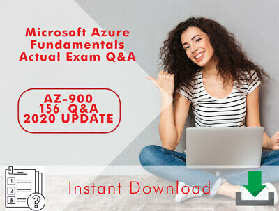 Microsoft Azure Fundamentals AZ-900 Actual Exam Questions UPDATE 2020