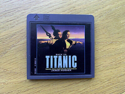 Minidisc Back to titanic soundtrack Album MD Music