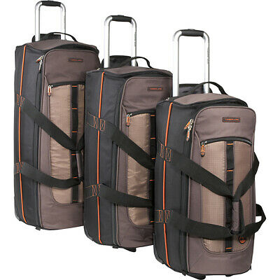 Timberland Jay Peak 3 Piece Set - Cocoa Luggage Set NEW