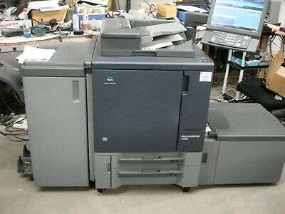 KONICA MINOLTA  ACCURIOPRINT C2060L -- Total meter 51K -- Booklet Fin-and Fiery