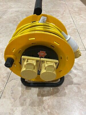 Faithful - 110v  cable extention  FPP CR25ML 2 Socket Cable Reel 110V