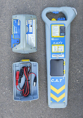 Used Radiodetection CAT3 & Genny 3, Cable Avoidance Detector, StrikeAlert activ