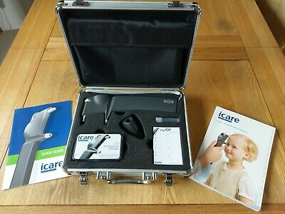 Icare Tonometer TA01i Ophthalmic Equipment IOP Eye Pressure Test Glaucoma Excel