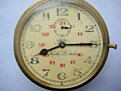 8 days Watch Doxa Brevet 33236 Swiss Poland troops Army WW II