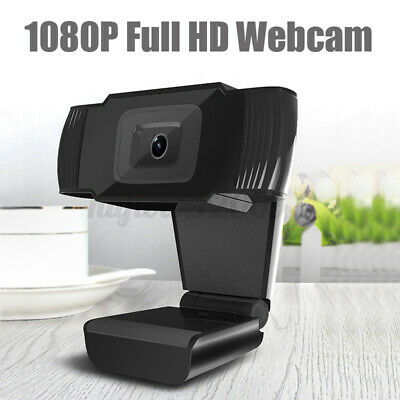 HD 1080P 12MP USB2.0 Webcam Camera MIC Clip-on For TV Computer PC Laptop Skype U