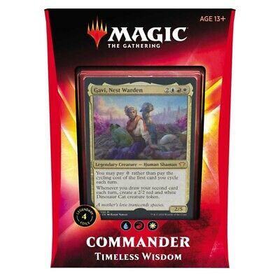 Magic Commander Ikoria, Timeless Wisdom Deck (English)