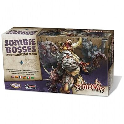 Zombicide Black Plague Zombie Bosses Abomination (Multiidioma)