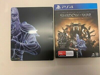 PS4 Middle Earth Shadow of War Gold Edition Playstation 4 Game