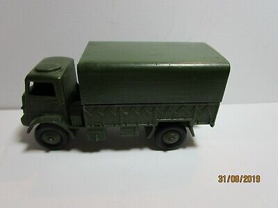 vintage Dinky Toys 623 Army Covered Wagon Ladenfund NOS MIB