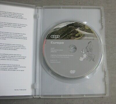 Audi Navigation plus RNS-E DVD Version 2020 Deutschland Europa rnse Original NEU