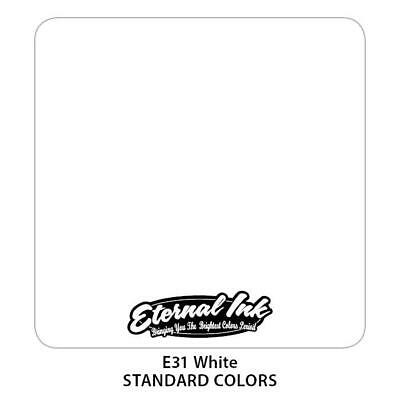 Tattoo Eternal Ink Color 30Ml , Tatuaggio Inchiostri Bianco Classico - White