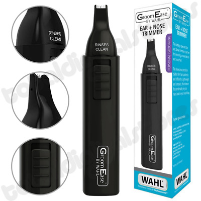 Wahl Groomease Ear, Nose & Eyebrow Hair Trimmer Cordless Grooming - 5560-3417