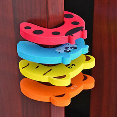 Child Safety Protection Baby Safety Cute Animal Security Card Door Stopper Baby