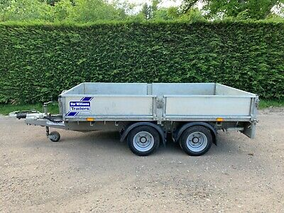 2018 Ifor Williams LM105 GHD 3500kg flat bed trailer *10 x 5'5