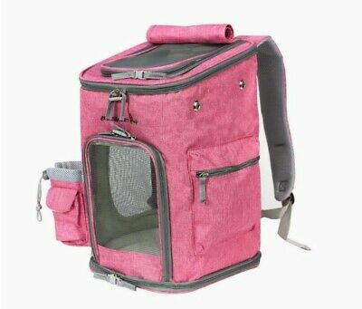 Dog Backpack Carrier, Pet Carrier Bag with Mesh for Small Dogs Cats Puppies,...