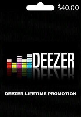 🎧Deezer Hifi Lifetime Account (WORLDWIDE) HighFidelity Music🎶 Lifelong ALL📱🖥