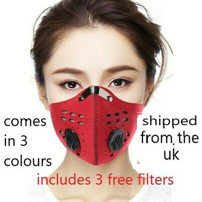 High Altitude Training Face Mask Cardio Running Cycling Fitness Gym Workout Mask