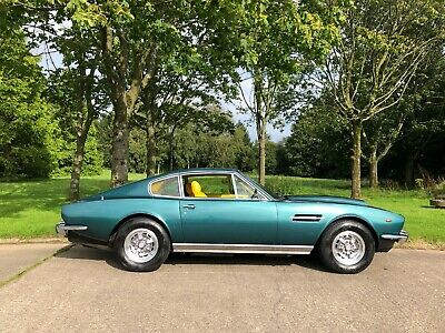 Aston Martin AMV8 1974, superb low mileage example 2 private owners from new DBS