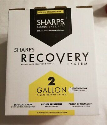 2 gallon Sharps Medical Waste Recovery System (Needles)