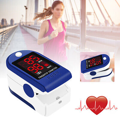 Fingertip Finger Pulse Oxygen Saturation Blood Oximeter Pressure Meter Monitor