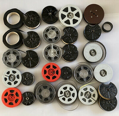 16 x Vintage Pathescope 9.5mm Cine Film Movies, Assorted Titles & Extra Reels