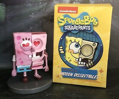 "Jason Freeny NICKELODEON 4/"" SET//9 Hidden Dissectibles Spongebob Collectbible"