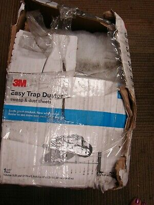 """3M Easy trap Duster sheets 8"""" x 125 ft  roll 250 perforated 6"""" sheets 55654W B2B"""