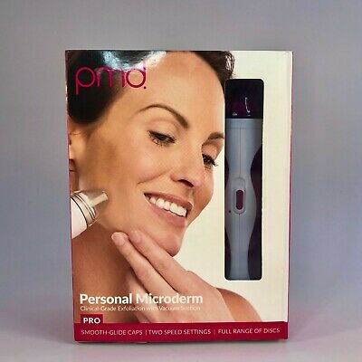 PMD Personal Microderm Pro - Berry  - NEW OPENED DAMAGED BOX