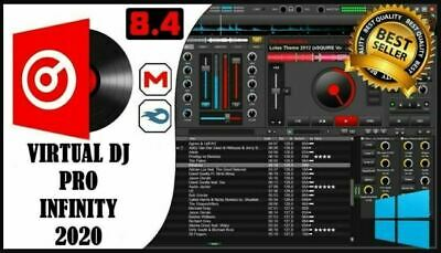 Virtual DJ Pro Infinity 2020 8.4.5 💎Software Mixing Controller💎 Latest Version