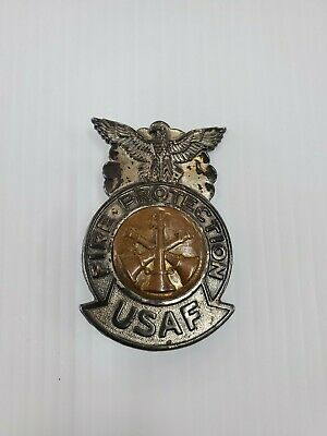 US Air Force Fire Protection Badge