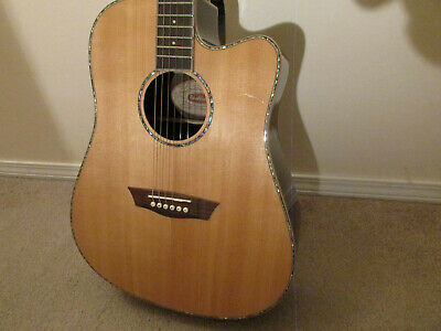 Washburn Acoustic/Electric Rosewood Back  & Sides, Sitka SpruceTop