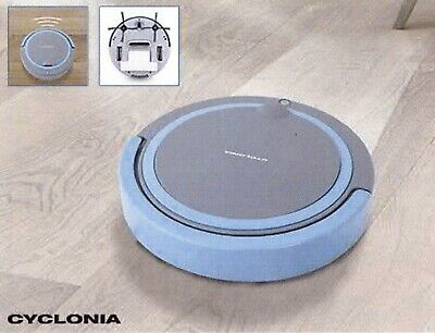 Robot Aspirateur Cyclonia Ac1303 : Robot Aspirateur Ultra Slim Black