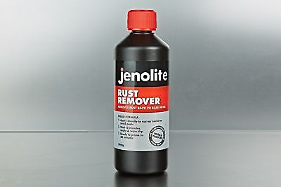 Jenolite Rust Remover 500g Liquid Treatment for Difficult Areas VC235