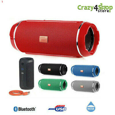 Cassa Bluetooth Altoparlante Speaker Charge 4 Mini A+ Usb Wifi 20W Waterproof