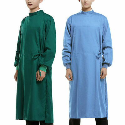 Reusable Surgical Gown Isolation Gown Protective Workwear for Doctor Nurse