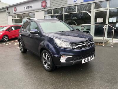 2018 Ssangyong Korando 2.2TD 4X4 ELX. Only 12,000 miles