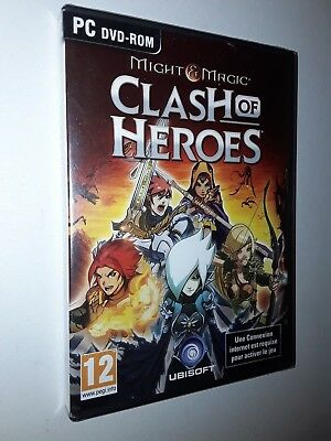 Might And Magic Clash of Heroes  -  PC NEUF Ubisoft