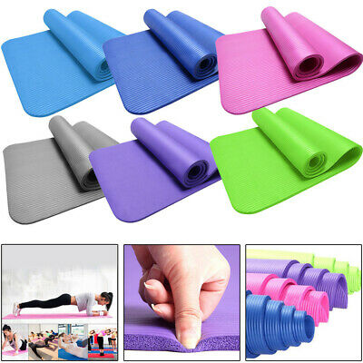 15MM Thick Yoga Mat Non-slip Durable Exercise Fitness NBR Mats Lose Weight Pad