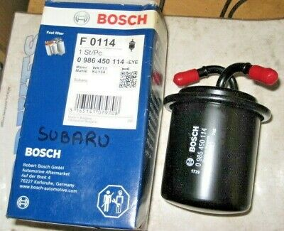 SG9 2.5 02 to 09 Bosch 42072AA011 Quality Fuel Filter fits SUBARU FORESTER SG
