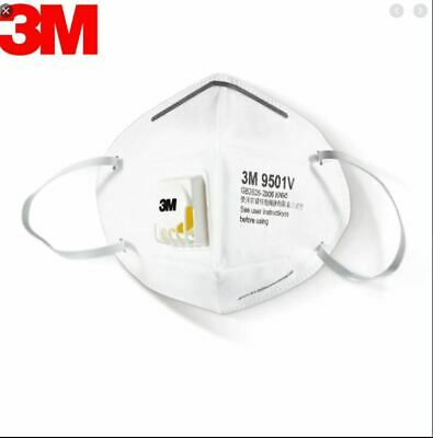 5/10PCS 3M 9501V+ KN95 Mask Protective Face Masks Mouth cover GB2626-2006 K N95