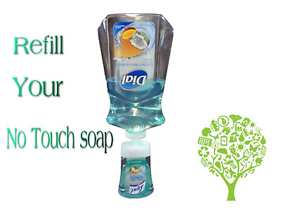 L Lys No Touch Refill adapter For The Auto Dispenser for Dial 52oz hand soap