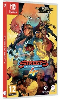 Streets Of Rage 4 Switch PREORDER JULY RELEASE!