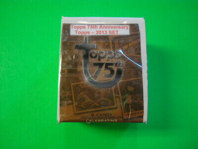 2013 Topps 75Th Anniversary 100 Card Base Set