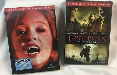 Lost Boys: The Tribe Uncut Version with Slip Cover NEW FACTORY SEALED