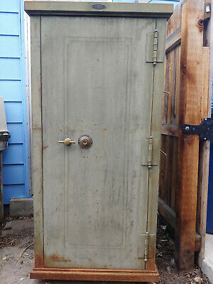 Large Antique Floor Safe - Vintage - The Safe-Cabinet Company - Marietta, Ohio