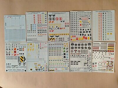 Warhammer 40K Decal Transfer Sheets - Many Armies / Faction To Choose From