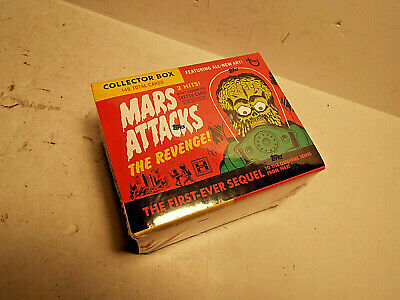 2017 Topps Mars Attacks Revenge Hobby Sealed Trading Card Box.